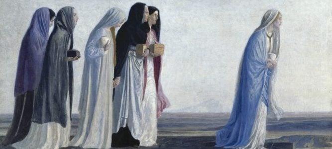 Жены-мироносицы — первые свидетели распятия, смерти, погребения и Воскресения Господа