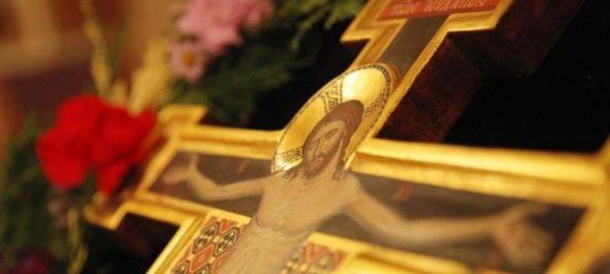 Церковная награда настоятелю нашего храма ко дню Светлого Христова Воскресения